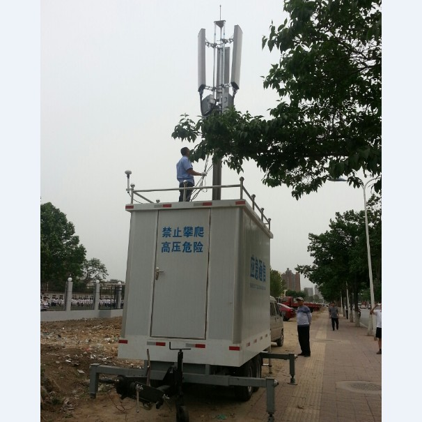 12.5m Lockable Mast for BTS